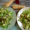 Einmal geht's noch: Salat mit Wirsing, Linsen und Avocado