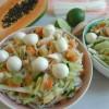 Glasnudelsalat mit Papaya macht glücklich und süchtig