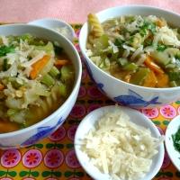 Zum Start der Suppenzeit gibt's Minestrone