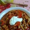 Mmmh - Eintopf mit Bulgur, Quinoa, Bohnen und Tomaten