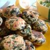 Sommerlich leichte Spinat-Ricotta-Laibchen