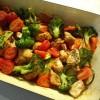 Ofengemüse mit Huhn - low carb in den Frühling!
