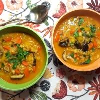 Das Jahr beginnt suppig - Wurzelsuppe mit Quinoa