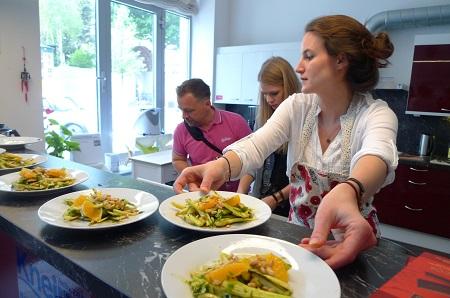 Danke an Eva Fischer von www.foodtastic.at für das feine Essen!