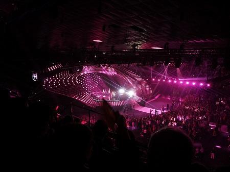 Grandiose Stimmung beim ersten Semifinale des Eurovision Songcontest
