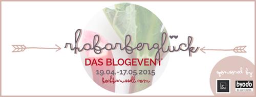 Rhabarberglück - Das Blogevent