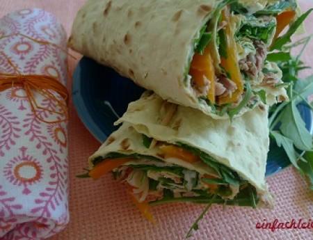 Thunfisch Wrap – schmackhaft, schnell, sommerlich