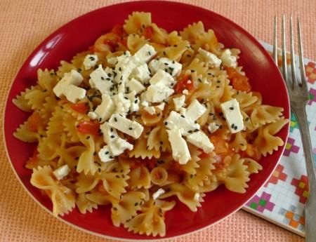 Ein All-Time Klassiker: Tomaten-Pasta