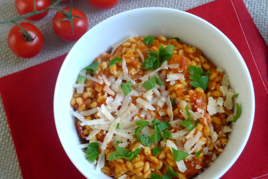 Ebly Zartweizen mit Tomaten