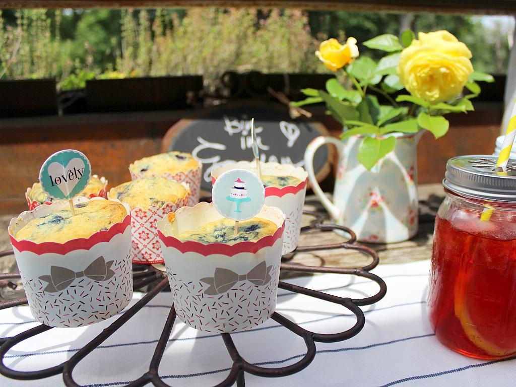 Heidelbeer-Buttermilch-Muffins von Schlossmanufaktur