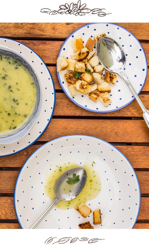 Zucchinicremesuppe von Vienna Sunday Kitchen