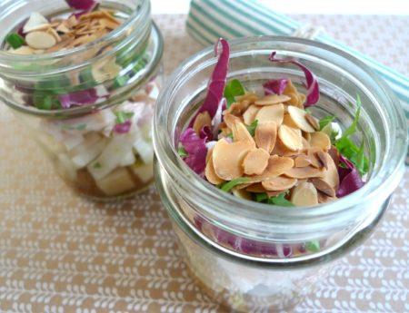 Sommersalat aus dem Glas