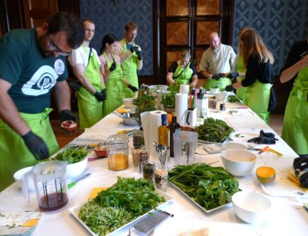 Im Pesto-Himmel beim Food Blog Day