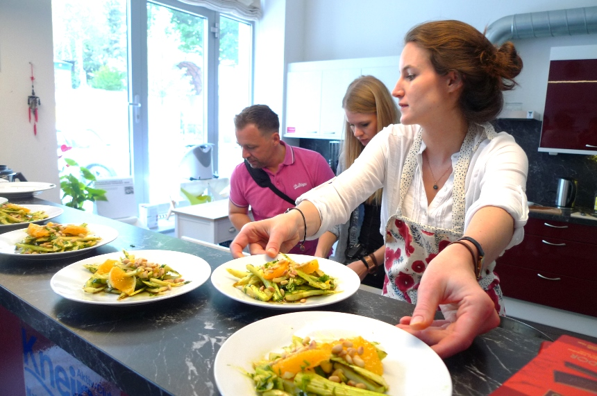 Eva Fischer beim Food-Foto-Workshop
