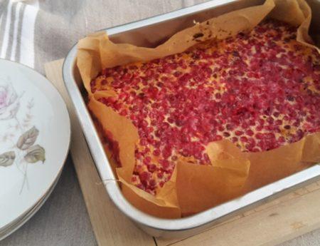 Preiselbeer-Clafoutis leicht und lecker