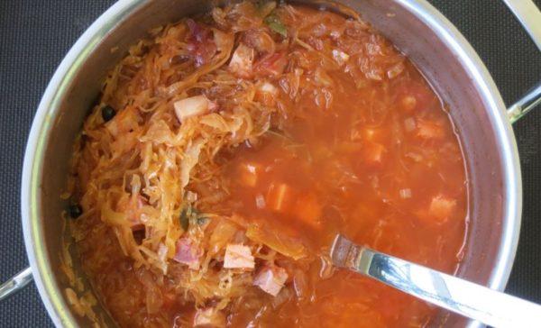 Sauerkraut-Suppe von Spielplatzküche