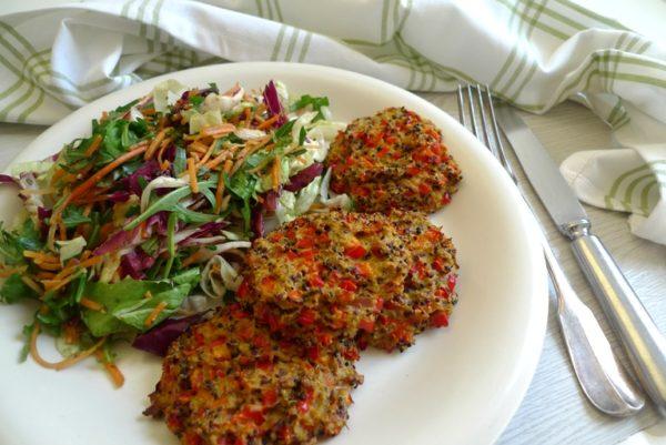 Quinoa-Thunfisch-Taler
