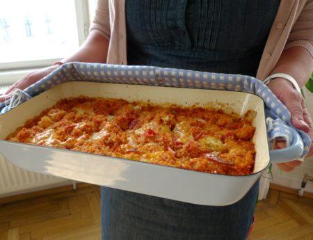 September-Challenge mit Karfiol-Quinoa-Auflauf