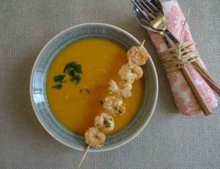 Mollige Süßkartoffelsuppe