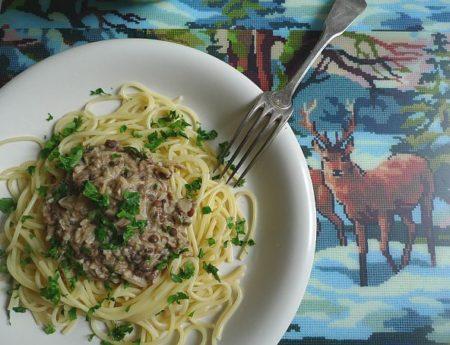 Soulfood für eisige Tage: Spaghetti mit Linsen
