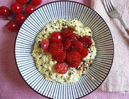 Hirsesalat mit Balsamico-Tomaten